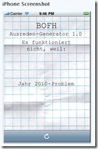 BOFH Ausreden-Generator für iPhone, iPod touch und iPad im iTunes App Store