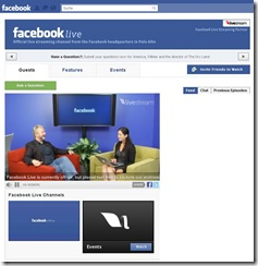 Facebook Live auf Facebook