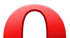 Opera half icon