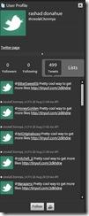 Twitter-Spam-Profil