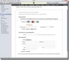 Apple Lastschrifteinzug Daten