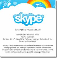 Skype 5.0 Beta Update 02