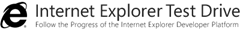 IE9 Testdrive Logo