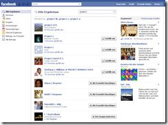 Facebook suche neu