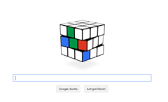 Google Doodle - Rubicks Würfel
